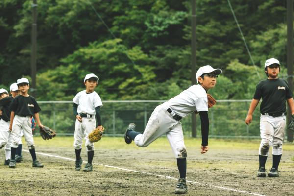 上野村の野球チーム『フォレストキング』