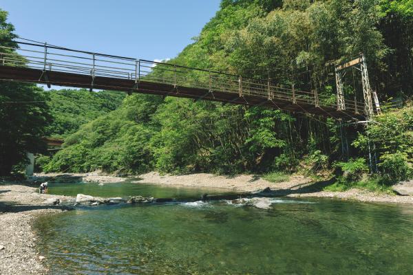 上野村のキレイな川